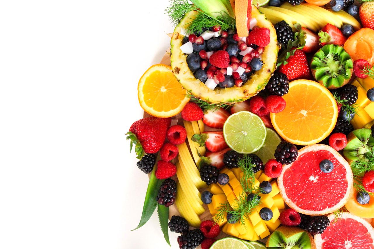 Fruit maakt je tanden wit