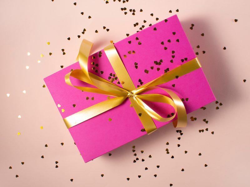 Lijst met gezonde cadeaus