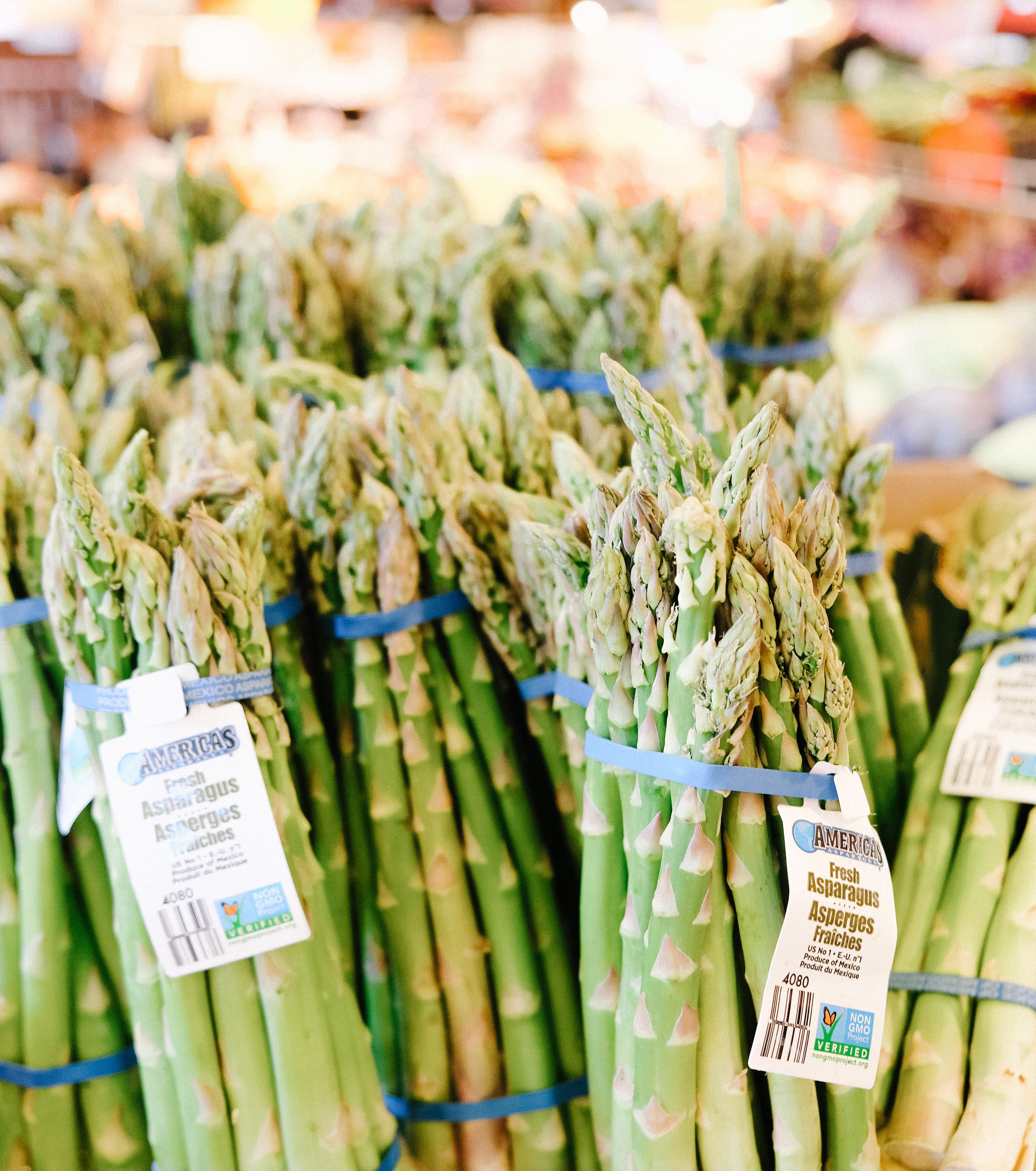 eet jezelf gelukkig met deze foods - asperges