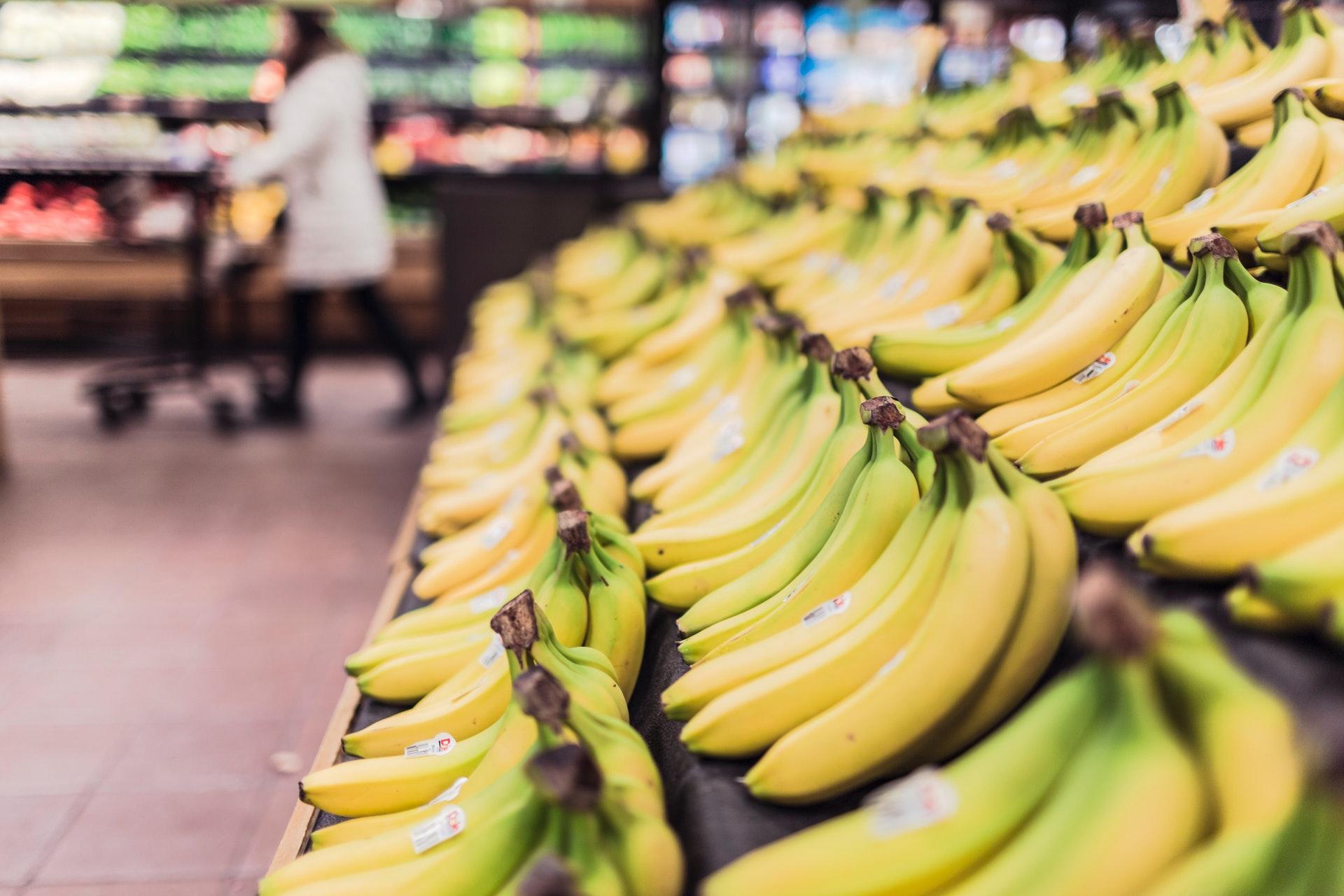 van deze foods word je gelukkig - bananen