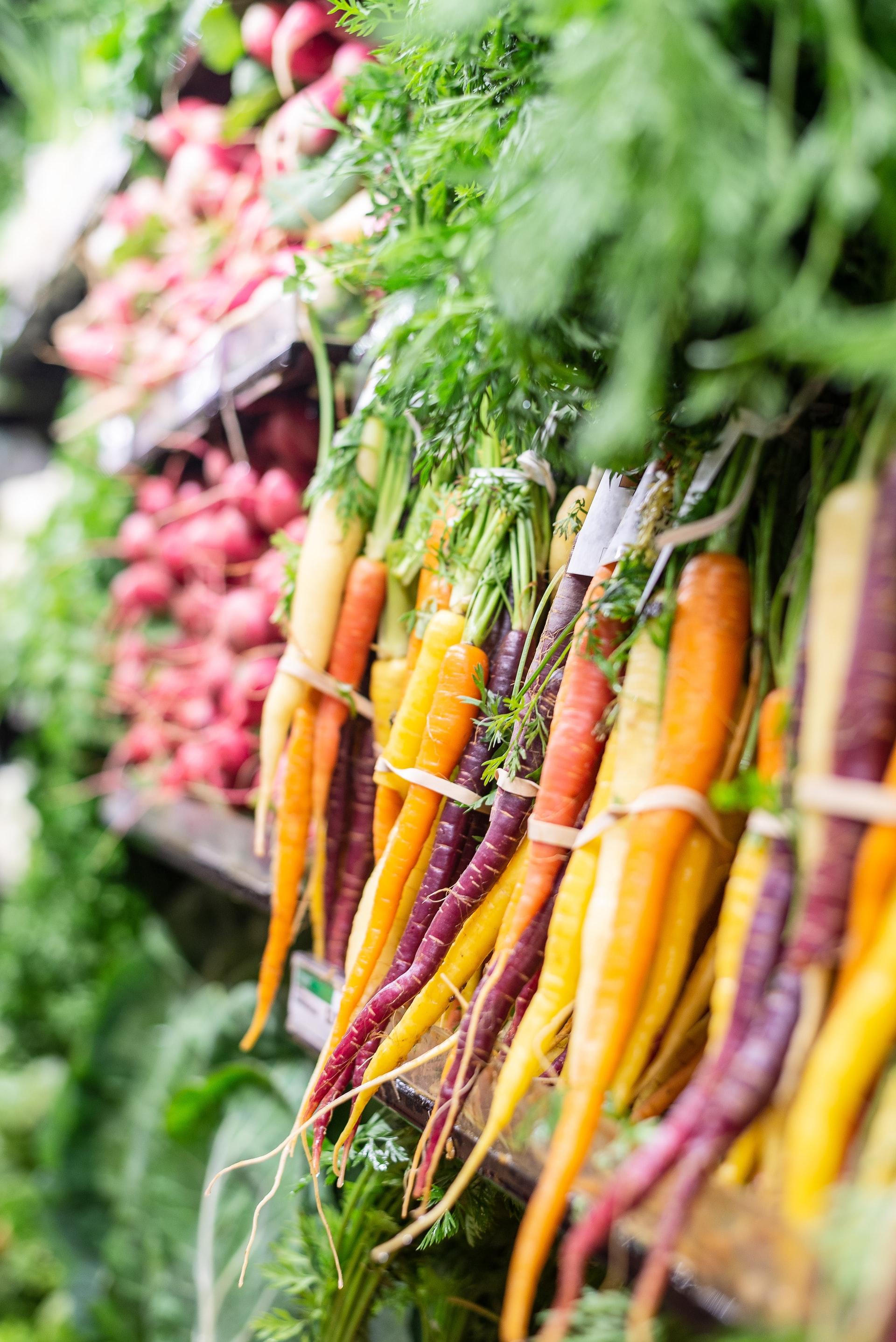 wortels zijn gezond